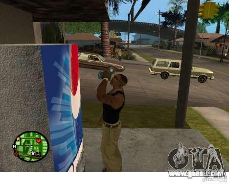 Pepsi vending machines and plant for GTA San Andreas