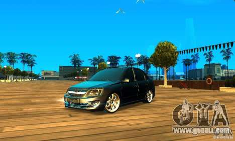 Lada Granta v2.0 for GTA San Andreas