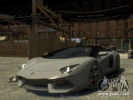 Lamborghini Aventador LP700-4 EPM for GTA 4