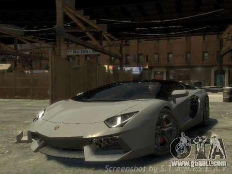 Lamborghini Aventador LP700-4 EPM for GTA 4