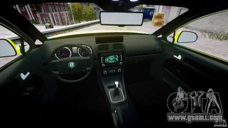Skoda Octavia Scout Paramedic [ELS] for GTA 4 side view