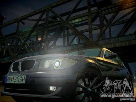 BMW 120i for GTA 4 interior
