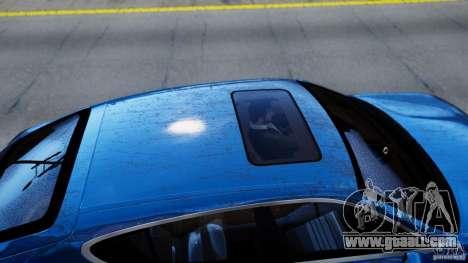 Porsche Panamera Turbo 2010 Black Edition for GTA 4 back view