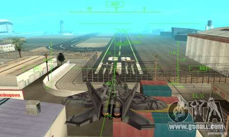 F-22 Starscream for GTA San Andreas engine