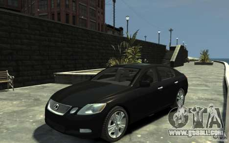 Lexus GS450 2006 for GTA 4