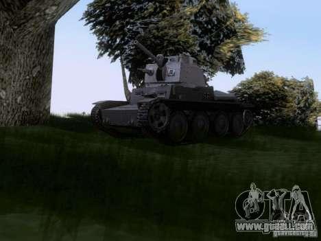 Pzkpfw-38 [t] for GTA San Andreas