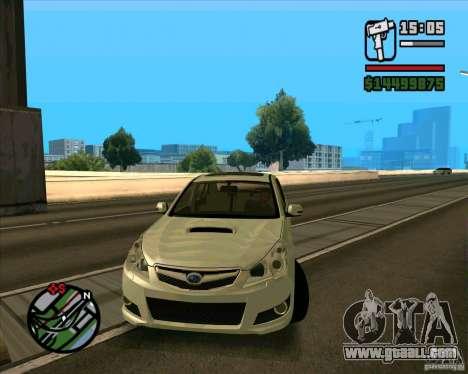 Subaru Legacy 2010 v.2 for GTA San Andreas