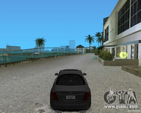 Mercedess Benz CL 65 AMG for GTA Vice City left view