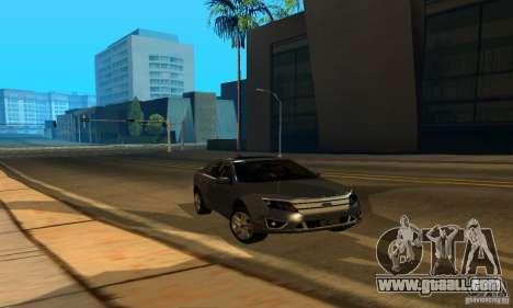 Ford Fusion Sport for GTA San Andreas