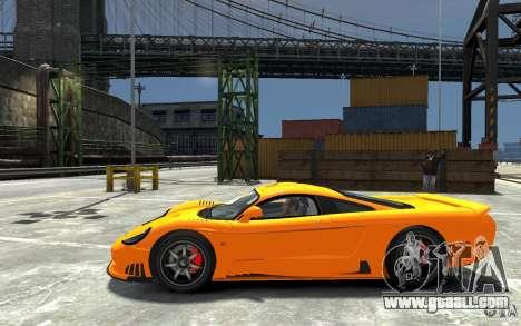 Saleen S7 for GTA 4 left view