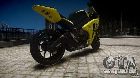 Honda CBR1000RR for GTA 4 left view