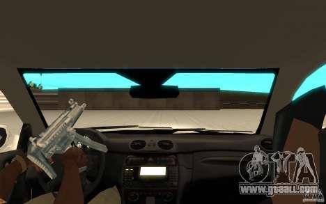 Mercedes-Benz CLK 500 Kompressor for GTA San Andreas right view