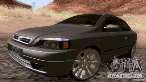 Opel Astra G 2.0 1.6V for GTA San Andreas back left view