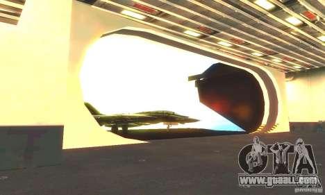 CVN-68 Nimitz for GTA San Andreas forth screenshot