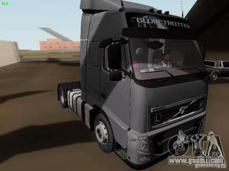 Volvo FH13 Globetrotter for GTA San Andreas left view