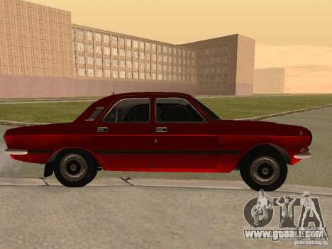 Volga GAZ 24-10 for GTA San Andreas back left view
