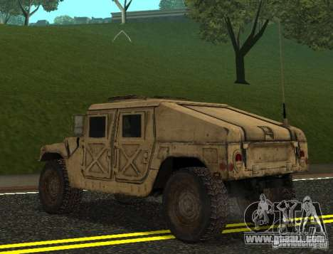 Sand Patriot HD for GTA San Andreas left view