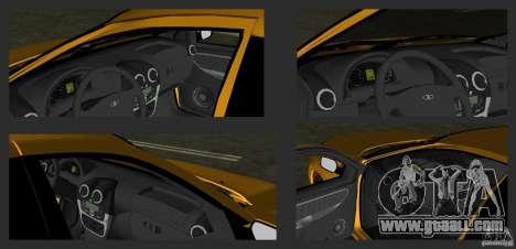 Lada Granta v2.0 for GTA Vice City side view