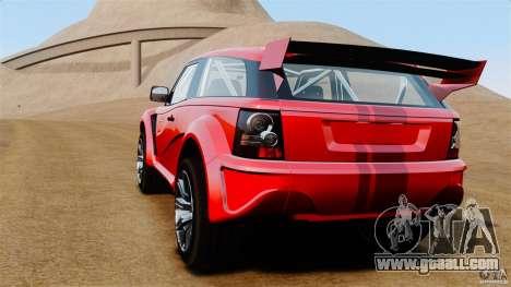 Bowler EXR S 2012 for GTA 4 back left view