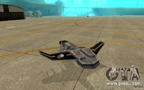 Hawk air Command and Conquer 3 for GTA San Andreas right view