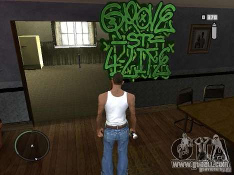 My Gang Tags for GTA San Andreas third screenshot