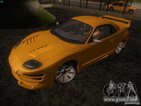 Mitsubishi FTO Tuning for GTA San Andreas left view