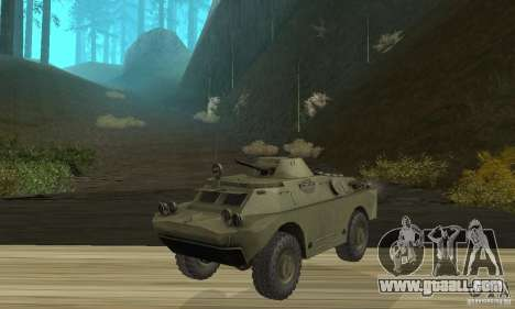 BRDM-2 Standard Edition for GTA San Andreas