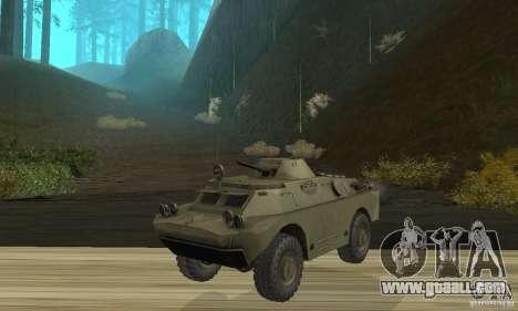 BRDM-2 Standard Edition for GTA San Andreas