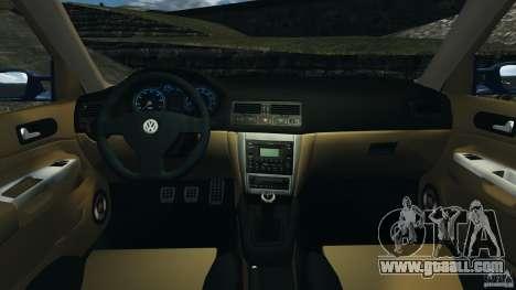 Volkswagen Golf 4 R32 2001 v1.0 for GTA 4 back view