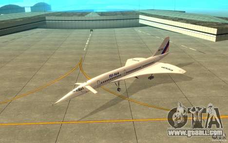 Tu-144 for GTA San Andreas