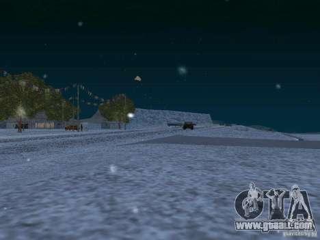 Snow for GTA San Andreas tenth screenshot