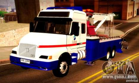 Volvo NH12 Towtruck for GTA San Andreas