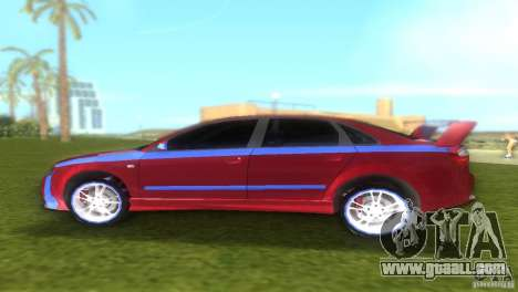 Audi A4 STREET RACING EDITION for GTA Vice City back left view