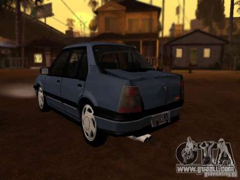 Chevrolet Monza GLS 1996 for GTA San Andreas back view