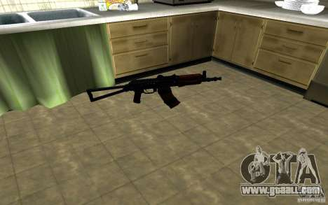 AK-74U for GTA San Andreas