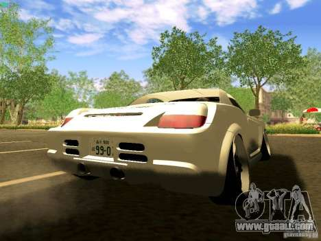 Toyota MR-S for GTA San Andreas left view