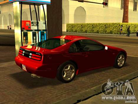 Nissan 300ZX for GTA San Andreas left view