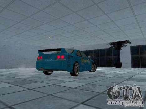 Nissan Skyline R 33 GT-R for GTA San Andreas right view