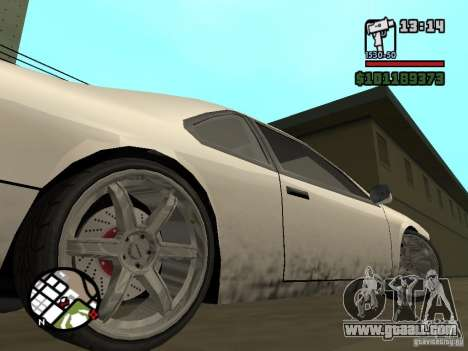 New parts for tuning for GTA San Andreas