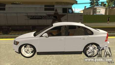 Volvo S40 2009 for GTA San Andreas left view