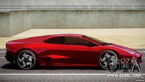 Lamborghini Reventon for GTA 4 left view