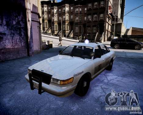 Russian NOOSE Cruiser for GTA 4