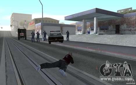 New animation shooting rifles for GTA San Andreas forth screenshot
