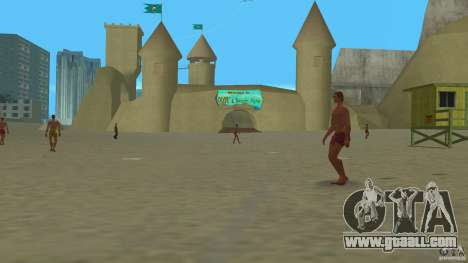 Vice City Beach-Park for GTA Vice City