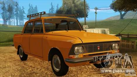 Moskvich 412 v2.0 for GTA San Andreas left view
