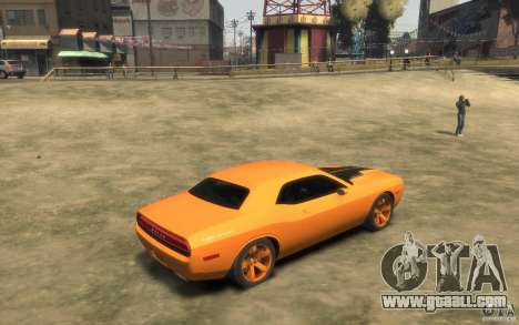 Dodge Challenger Concept for GTA 4 right view