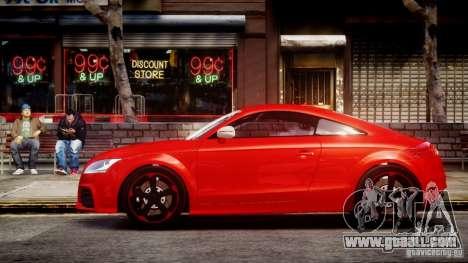 Audi TT RS 2010 for GTA 4 back left view
