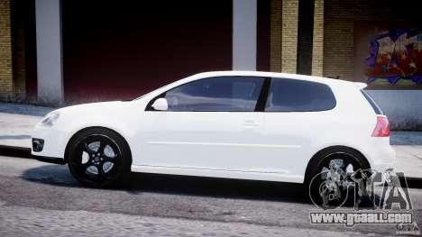 Volkswagen Golf 5 GTI for GTA 4 left view