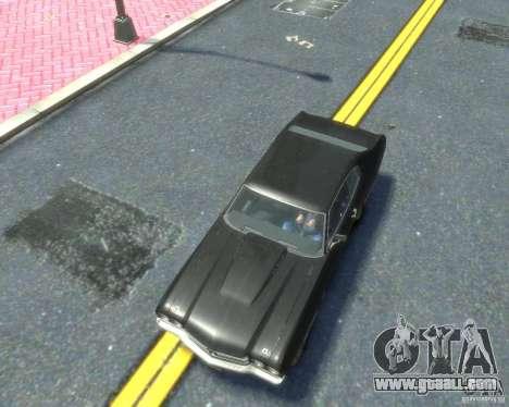 Chevrolet Chevelle SS 454 1970 for GTA 4 inner view