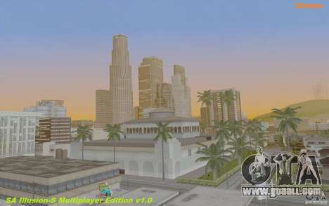 SA Illusion-S SA:MP Edition V2.0 for GTA San Andreas
